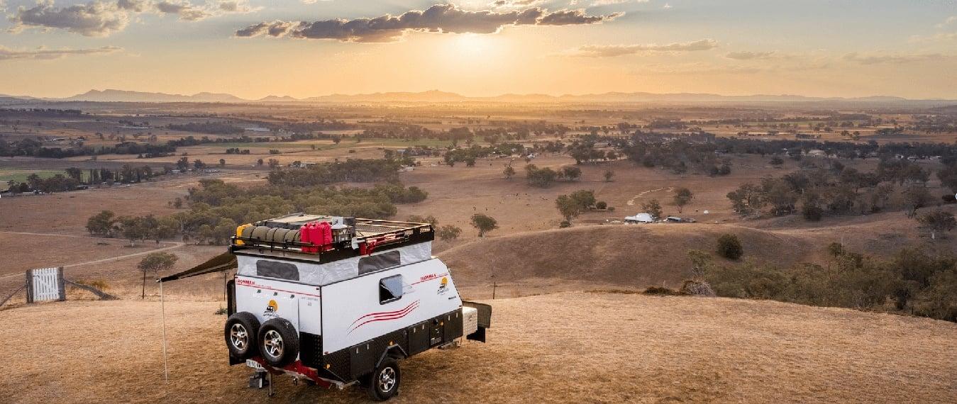 Hybrid Camper Designed and Built in Australia